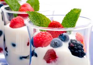 Йогурты полезны для нервной системы