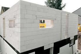 Строительство жилых домов из пенобетона