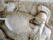 Древние воины тоже страдали от посттравматического стрессового расстройства