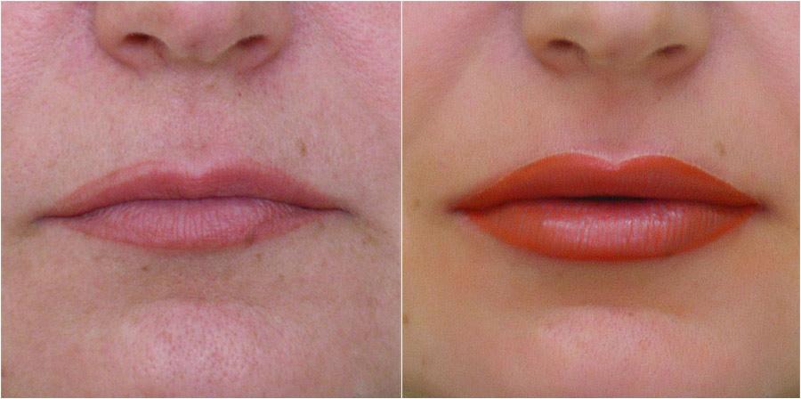 Губы и перманентный макияж