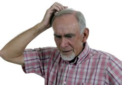 Старческий склероз атакует мужчин