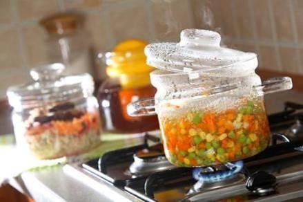 Правила приготовления в стеклянной посуде