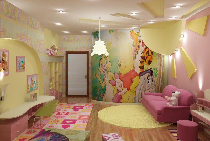 Ремонт детской комнаты, выбор мебели