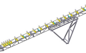 Виды и конструктивные особенности ленточных конвейеров