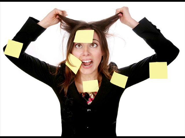 Причины стресса на работе