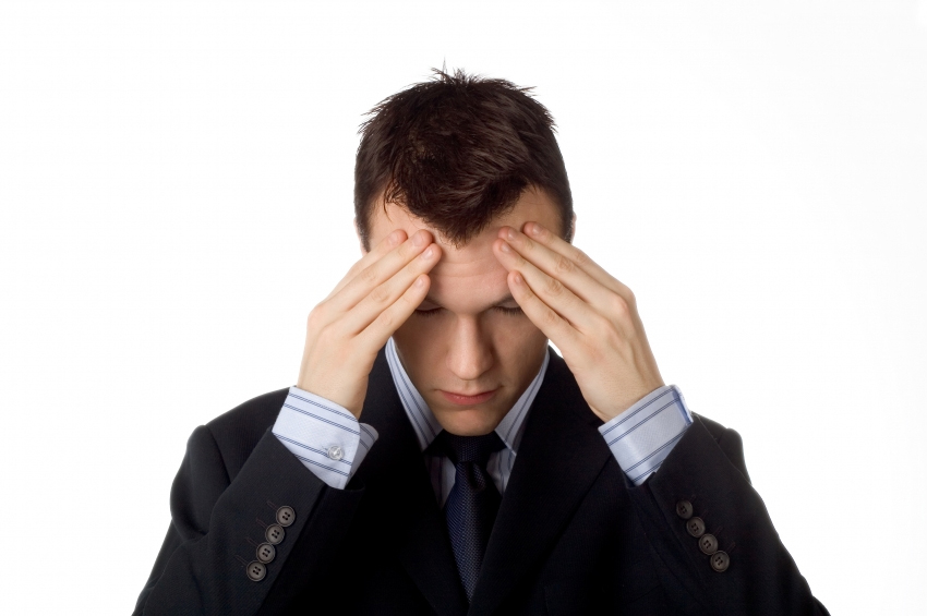 Стресс все мешает в голове