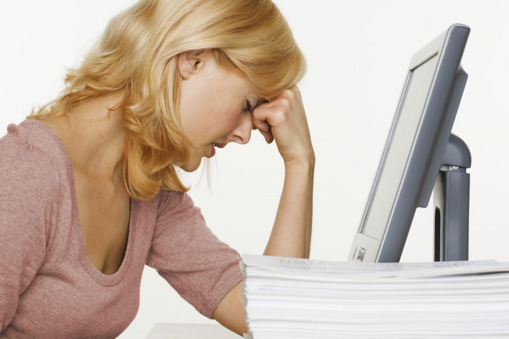 Названы виновники стресса на работе