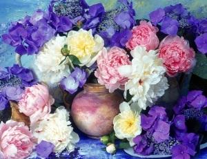 Цветы улучшают работу мозга
