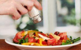 Соленая еда помогает справиться со стрессом