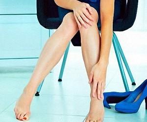 Страх перед будущим провоцирует проблемы с ногами