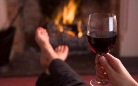 Один бокал вина в день снижает риск инсульта