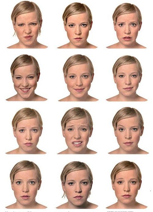 Люди приспособлены угадывать эмоции по лицу