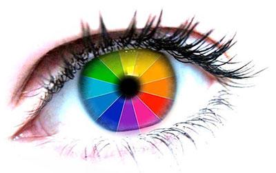 Восприятие цветов автоматически подстраивается под время года