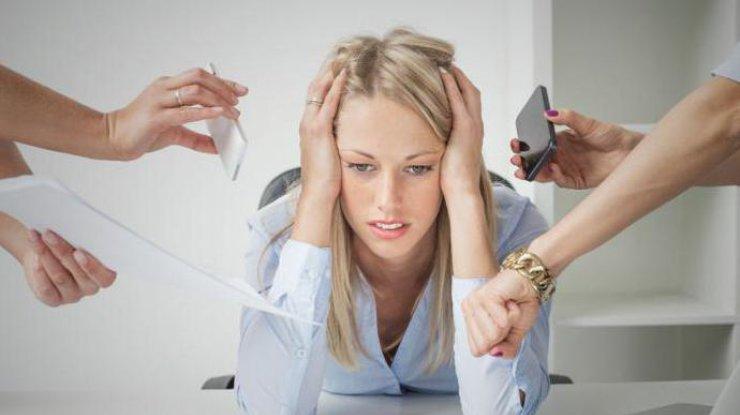 Стресс и переутомление: 5 главных симптомов