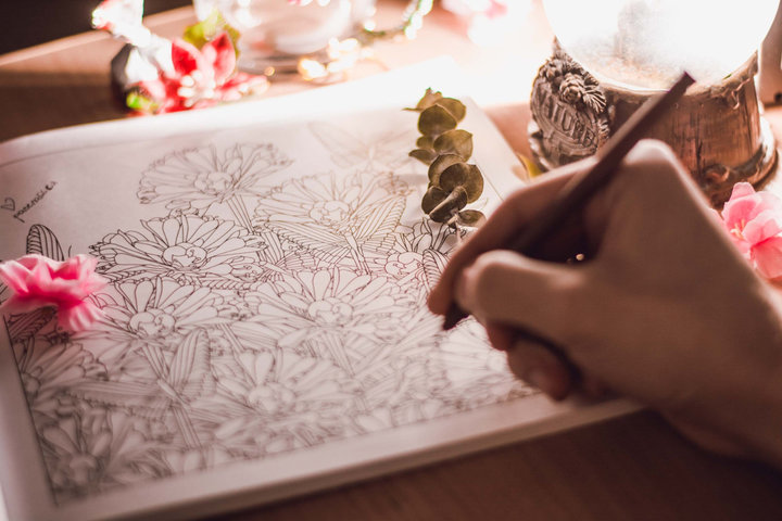 Правда ли, что раскраски для взрослых снимают стресс