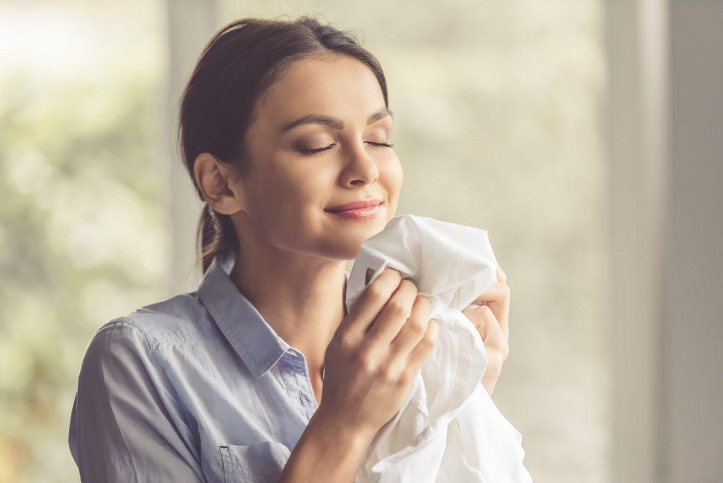 Ученые выяснили, что запах любимого мужчины подавляет стресс