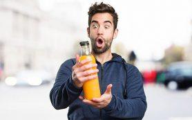 Апельсиновый сок спасет мужчин от деменции