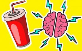 Газировка негативно воздействует на работу мозга